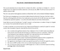 Place UK Ltd – Brexit Statement November 2019