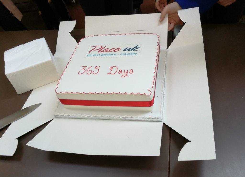 Celebration of 365 days